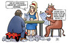 Cartoon: Dobrindt-Nachsitzen (small) by Harm Bengen tagged dobrindt,nachsitzen,maut,eu,europa,stier,kind,gesetz,harm,bengen,cartoon,karikatur