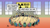Cartoon: Endlager-Kommission (small) by Harm Bengen tagged endlager,kommission,atomkraft,kernkraft,schrott,atommüll,harm,bengen,cartoon,karikatur