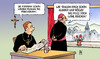 Cartoon: Frauen als Priester (small) by Harm Bengen tagged frauen,priesteramt,priester,pfarrer,kleidung,kleider,rock,roecke,klerus,dogma,kardinal,katholisch,harm,bengen,cartoon,karikatur