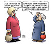 Cartoon: Gauck-Ansprache (small) by Harm Bengen tagged gauck,ansprache,weihnachten,teleprompter,ablesen,kopf,frau,susemil,harm,bengen,cartoon,karikatur