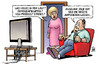 Cartoon: Jolie-Brüste (small) by harm tagged demografiegipfel,nsu,prozess,streiks,neuigkeiten,tv,angelina,jolie,brüste,busen,amputieren,brustkrebs,harm,bengen,cartoon,karikatur