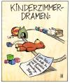 Cartoon: Kinderzimmerdramen (small) by Harm Bengen tagged kinderzimmerdramen,kinder,teddy,gameboy