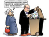 Cartoon: Olympia-Müll (small) by Harm Bengen tagged schmiergelder,korruption,sport,olympia,referendum,hamburg,kiel,abstimmung,muell,susemil,harm,bengen,cartoon,karikatur
