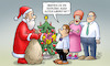 Cartoon: Retouren (small) by Harm Bengen tagged retouren,weihnachten,weihnachtsmann,bescherung,lieferung,umtausch,geschenke,harm,bengen,cartoon,karikatur