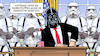Cartoon: Trumps Bundestruppen (small) by Harm Bengen tagged trump,bundestruppen,usa,anarchisten,starwars,darth,vader,stormtrooper,harm,bengen,cartoon,karikatur