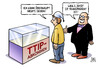 Cartoon: TTIP-Transparenz (small) by Harm Bengen tagged ttip,transparenz,bundestag,verhandlungen,freihandelsabkommen,deutschland,europa,usa,zoll,standards,chlorhaehnchen,chlohr,huehner,harm,bengen,cartoon,karikatur