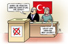 Cartoon: Türkei-Wahl (small) by Harm Bengen tagged türkei,wahl,sonntag,erdogan,akp,harm,bengen,cartoon,karikatur