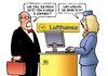 Cartoon: Von A nach B (small) by Harm Bengen tagged lufthansastreik,lufthansa,streik,pilotenvereinigung,piloten,cockpit,gewerkschaft,tarif,rente,flugzeuge,harm,bengen,cartoon,karikatur