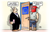 Cartoon: Wallonen-Folter (small) by Harm Bengen tagged folter,europa,eu,kanada,wallonie,wallone,belgien,ceta,freihandelsabkommen,harm,bengen,cartoon,karikatur