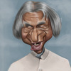 Cartoon: Abdul Kalam (small) by jonesmac2006 tagged abdul,kalam,caricature,cartoon