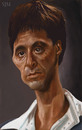 Cartoon: Al Pacino (small) by jonesmac2006 tagged caricature