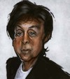 Cartoon: Paul (small) by jonesmac2006 tagged paul mccartney