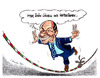 Cartoon: Berlusconis Seiltanz (small) by pianoman68 tagged berlsuconi,italien,italy