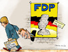 Cartoon: Wahlkampf ohne Westerwelle (small) by pianoman68 tagged fdp,westerwelle,wahlkampf