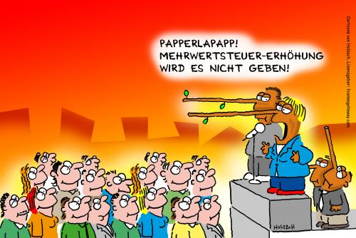 Cartoon: Wahl 2009 (medium) by anett tagged wahl,2009