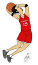 Cartoon: joueur de basket-ball (small) by MelgiN tagged basketball,turkey,fiba