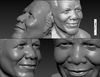 Cartoon: Nnelson MANDELA (small) by muharrem akten tagged nelson,mandela,3d,caratoon