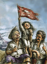 Cartoon: victory (small) by nootoon tagged victory,nootoon,germany,illustration,pirates
