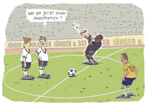 Fußball Anpfiff