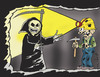 Cartoon: Coal mine workers in Zonguldak i (small) by komikadam tagged coal,mine,workers,in,zonguldak,memory