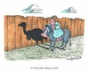 Cartoon: Eurozone mit Schatten (small) by mandzel tagged eurozone,geier,schatten,wand