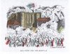 Cartoon: Frankreich in Aufruhr (small) by mandzel tagged frankreich,hollande,bastille,arbeitsmarktreform,demonstrationen,proteste