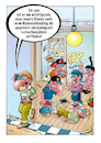 Cartoon: Homeschooling (small) by stefanbayer tagged corona,covid,lockdown,homeschooling,lernen,atmosphäre,kinder,latte,macciato,mobbing,schule,schultoilette,turnschuhe,smartphone,erziehung,bay,stefanbayer