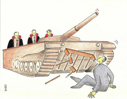 Cartoon: court and defense (medium) by cemkoc tagged juge,le,juridiction,la,cour,droit,legal,richter,attorney,lawyer,prosecutor,public,prosecution,tribunal,trial,defendant,last,court,supreme,justice,judicial,judge,judgement,cartoons,law,karikatürleri,hukuk,abogado