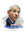 Cartoon: Dr Fauci (small) by rocksaw tagged dr,fauci