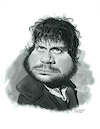 Cartoon: Oliver Reed (small) by rocksaw tagged caricature,oliver,reed