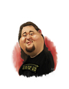 Cartoon: Pawn star Chumlee (small) by rocksaw tagged caricature,chumlee