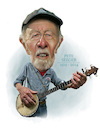 Cartoon: Peter Seeger (small) by rocksaw tagged peter,seeger