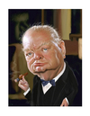 Cartoon: Winston Churchill (small) by rocksaw tagged winston,churchill