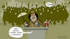 Cartoon: Festival de la felicidad (small) by cosmicomix tagged gaddafi gadafi speech discurso revolution