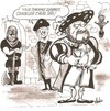 Cartoon: cutting edge divorce (small) by ade tagged henryv111 executioner divorce tudor