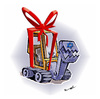 Cartoon: CHRISTMAS GIFT FOR GAZA!! (small) by ismail dogan tagged christmas,gift,for,gaza
