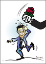 Cartoon: DEFEAT SARKOZY !.. (small) by ismail dogan tagged nicolas,sarkozy