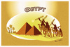 Cartoon: EGYPT !... (small) by ismail dogan tagged egypt