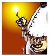 Cartoon: KAMIKAZE (small) by ismail dogan tagged the,flame,of,paradise