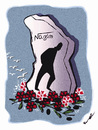 Cartoon: NAZIM HIKMET 108 YEARS !.. (small) by ismail dogan tagged poete,nazim,hikmet,108,ans