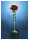 Cartoon: ROSE (small) by ismail dogan tagged may1