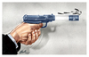 Cartoon: oil (small) by Halil I YILDIRIM tagged oil
