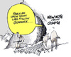 Cartoon: the message (small) by barbeefish tagged osama