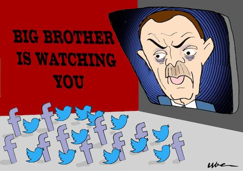 BIG BROTHER IS WHATCHING YOU