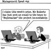 Cartoon: Begin (small) by cartoonsbyspud tagged cartoon,spud,hr,recruitment,office,life,outsourced,marketing,it,finance,business,paul,taylor
