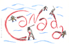 Cartoon: C A N A D A (small) by Ronald Slabbers tagged canada seal hunt kanada robbe jagd