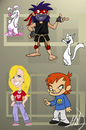 Cartoon: characters ... (small) by Mad tagged cartoon