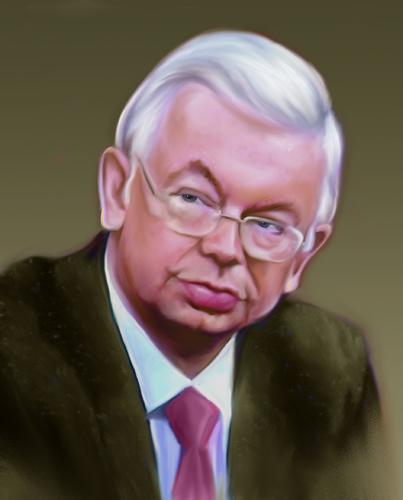 Roland koch von sigrid t pfer politik cartoon toonpool for Koch politiker