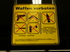 Cartoon: No weapons (small) by 6aus49 tagged weapons,hamburg,train,station