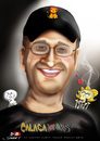 Cartoon: Cartoonist Luis Eduardo Leon (small) by saadet demir yalcin tagged saadet,sdy,luiseduardo